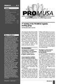 Cover of the ProMusa newsletter No. 9