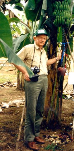 Kenneth Shepherd, a British researcher who worked on the cytogenetics, taxonomy and improvement of bananas.