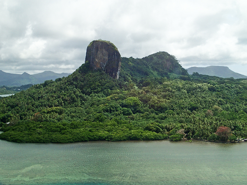 Island of Pohnpei (Photo by A. Vezina)