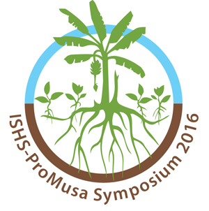 Logo - X International Symposium on Banana: ISHS-ProMusa symposium: Agroecological approaches to promote innovative banana production systems