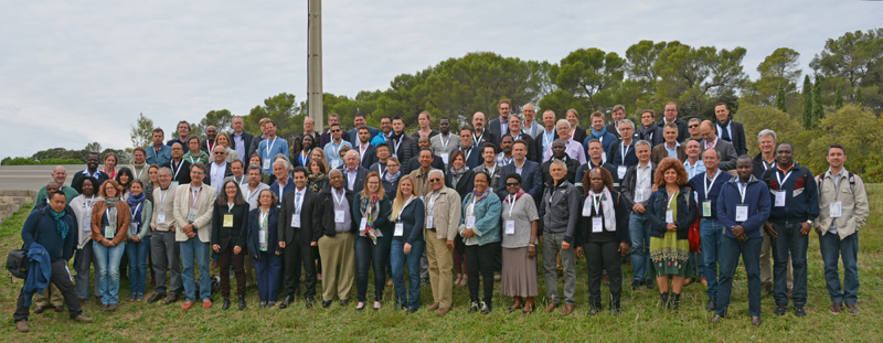 Conference group photo (photo by B. Pogam/Cirad)