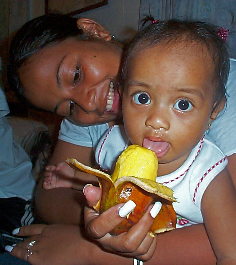 In Pohnpei, the Karat banana is a traditional infant food.
